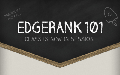 Web Stats Wednesday- Edgerank 101: Class is Now in Session